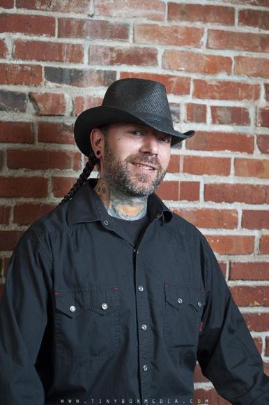 Thomas Wade, Tattoo Artist at Laughing Buddha Tattoo and Body Piercing Seattle, WA. Capitol Hill